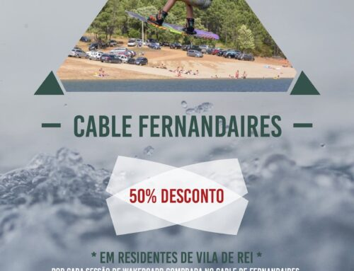 Cable Park de Fernandaires com descontos