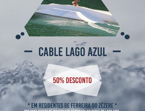 Cable Park do Lago Azul com descontos